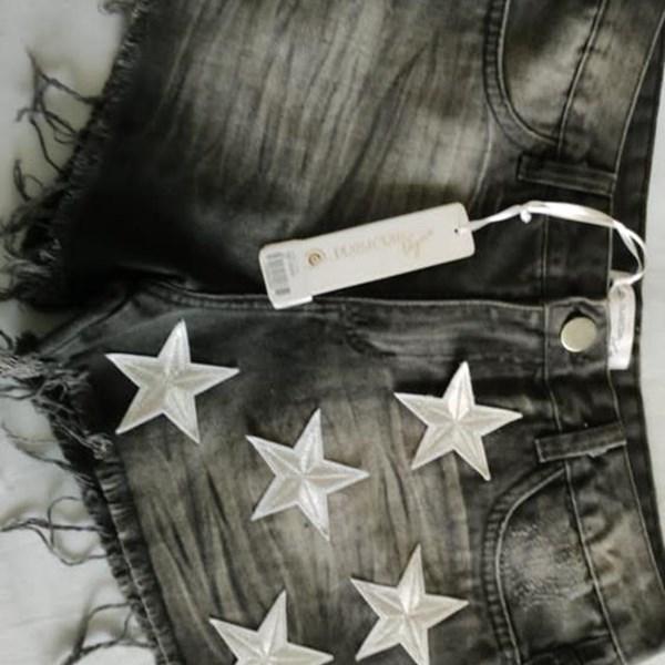 Short Jeans Black