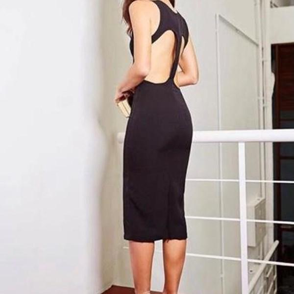 Vestido Midi Black